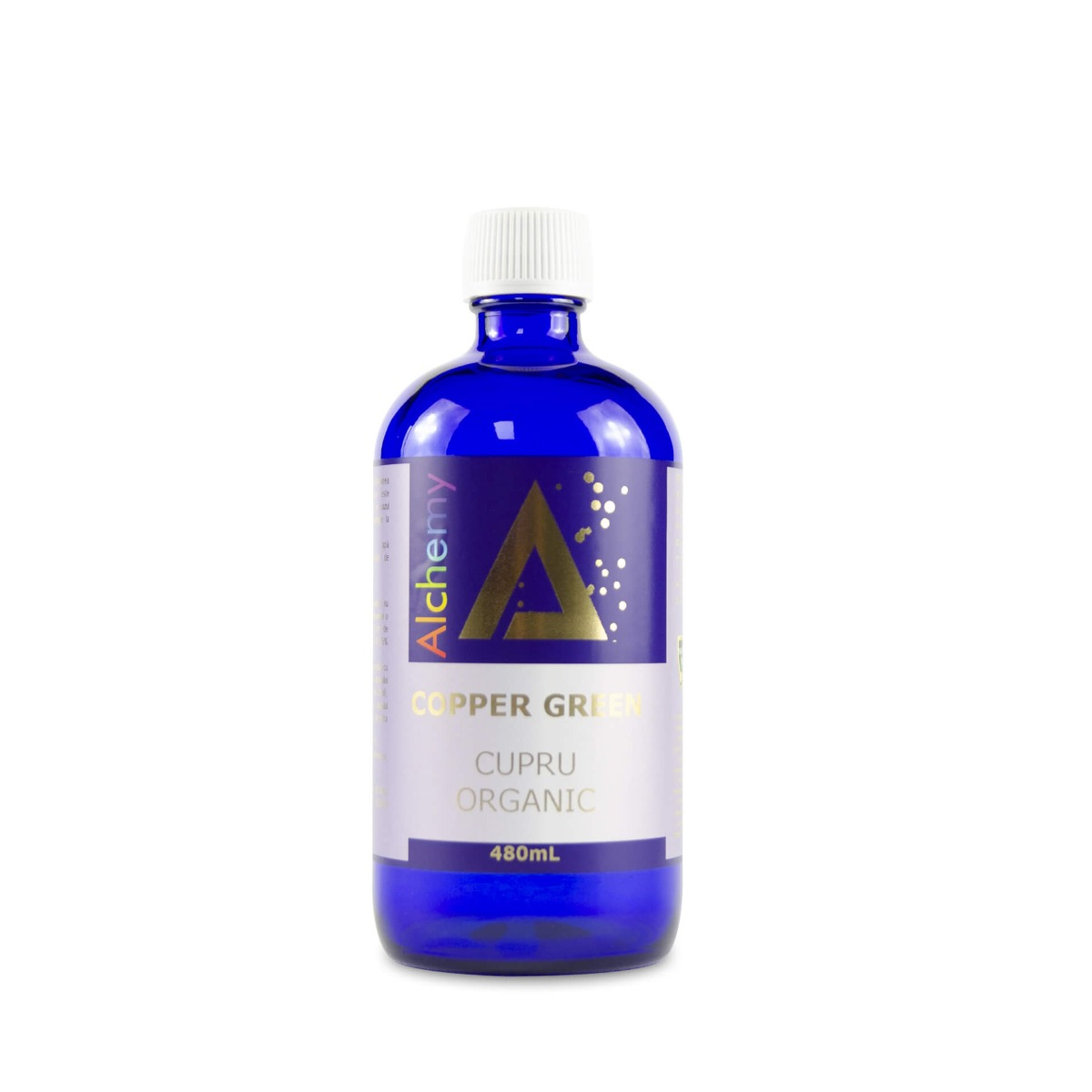 Copper Green Cupru Ionic Organic Alchemy, 480ml, Aghoras drmax.ro