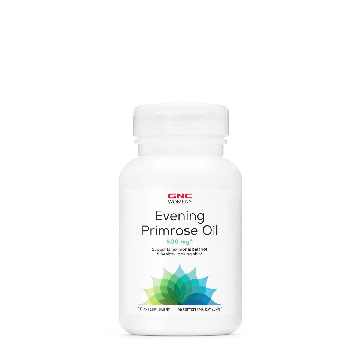 Evening Primrose Oil 500mg, 90 capsule, GNC drmax poza