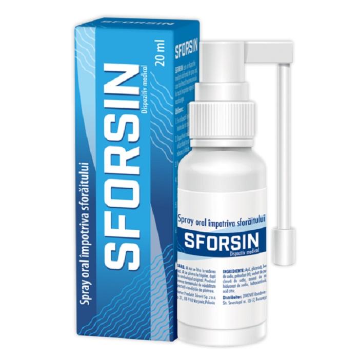 Sforsin spray antisforait, 20ml, Zdrovit drmax poza
