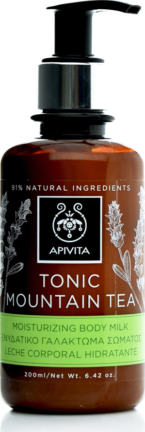 Apivita Tonic Mountain Tea Lapte corp 200ml imagine produs 2021