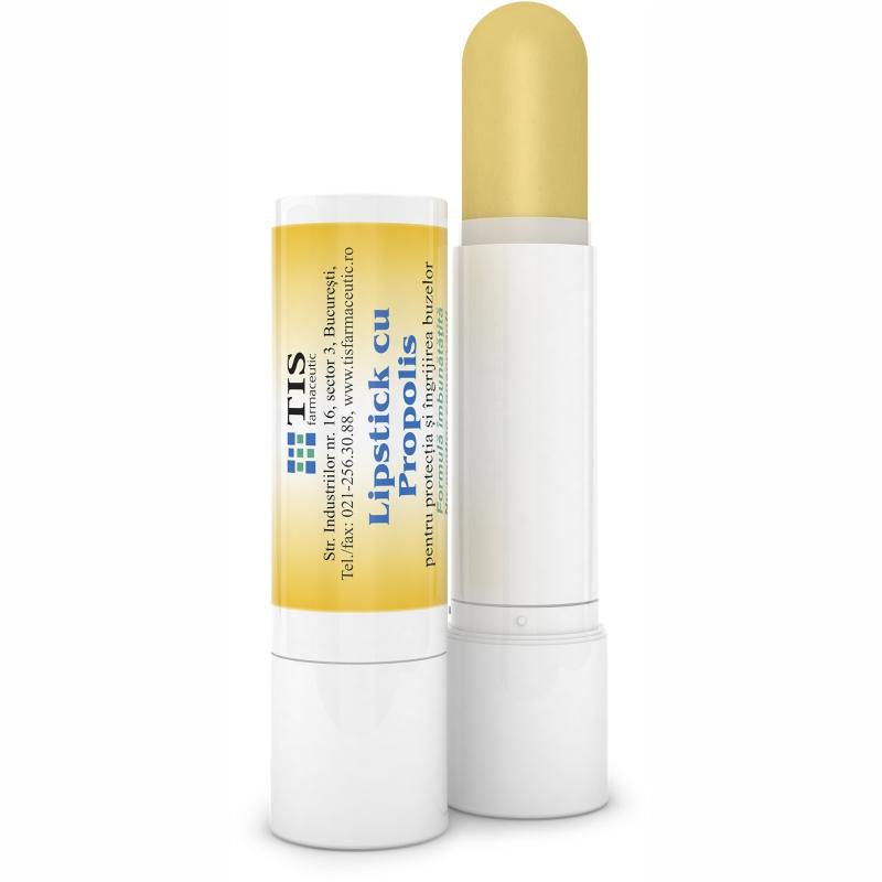 Lipstick cu Propolis, 4g, Tis Farmaceutic imagine drmax.ro