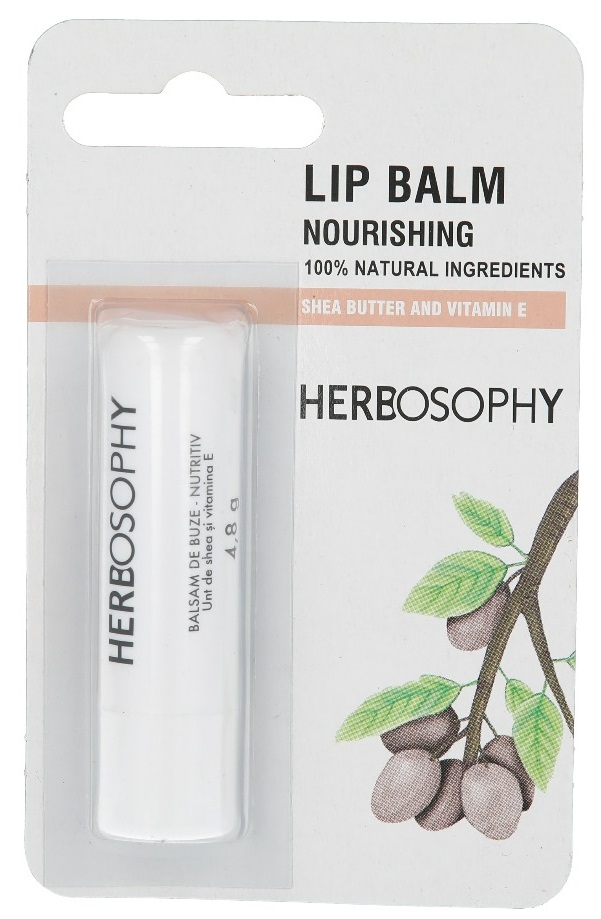Herbosophy, Balsam de buze cu unt shea, 4.8g imagine produs 2021