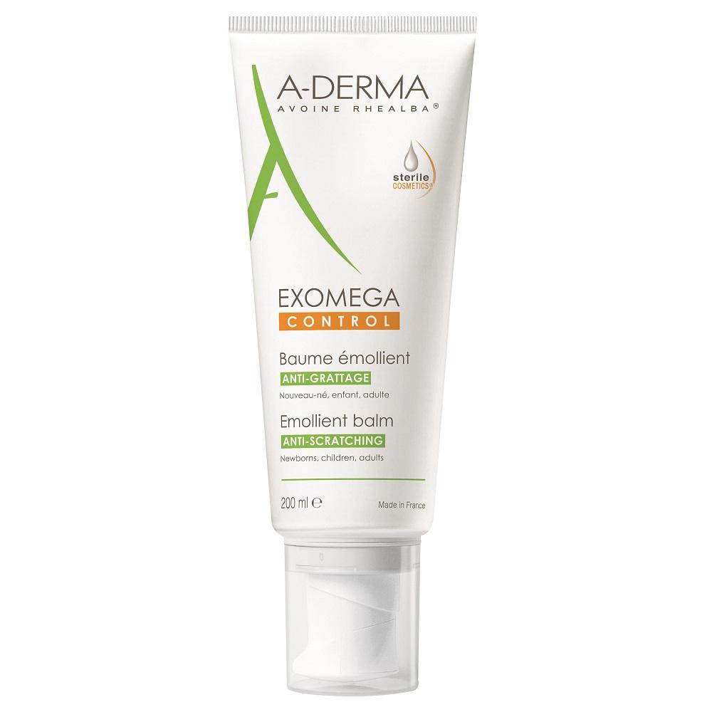 Balsam emolient Exomega Control, 200ml, A-Derma drmax.ro