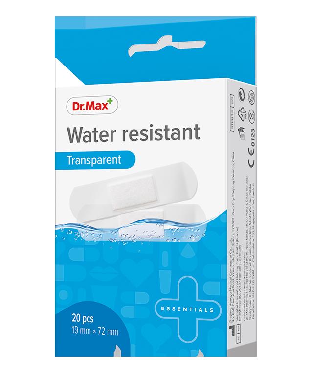 Dr.Max Plaster Water Resistant 19X72Mm*20Buc imagine produs 2021