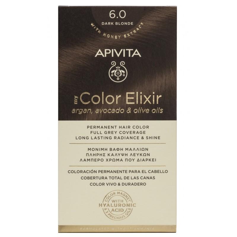 Vopsea My Color Elixir, N6.0, Apivita drmax.ro