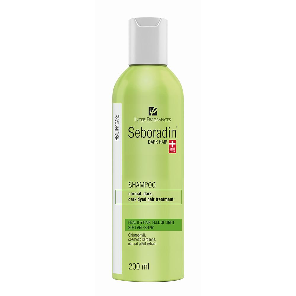 Sampon Dark Hair pentru par inchis la culoare, 200ml, Seboradin imagine produs 2021
