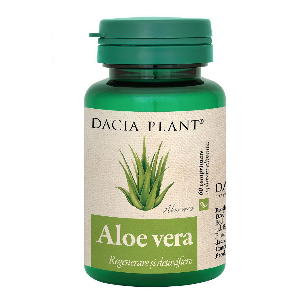 Aloe vera, 60 comprimate, Dacia Plant drmax.ro