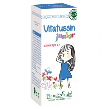 Vitatussin junior, 125ml, Plantextrakt drmax.ro
