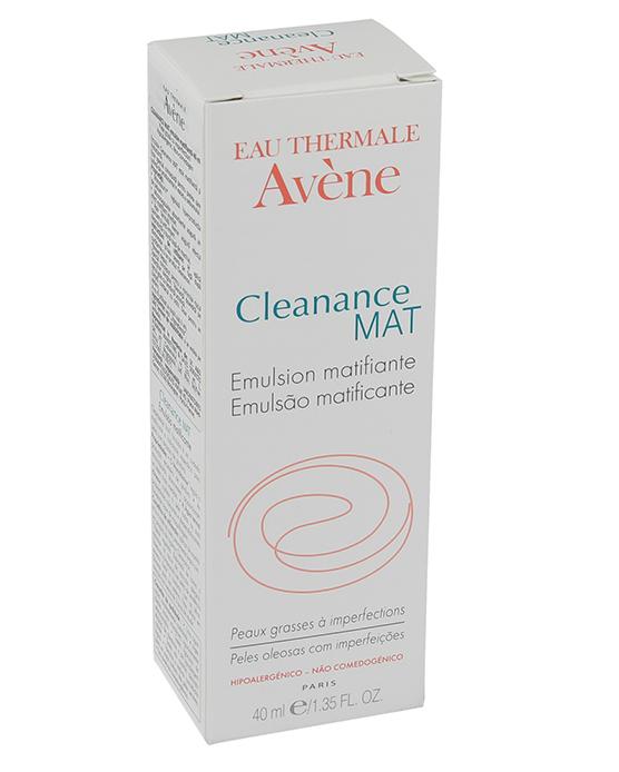 Emulsie matifianta pentru ten gras cu imperfectiuni Cleanance Mat, 40 ml, Avene