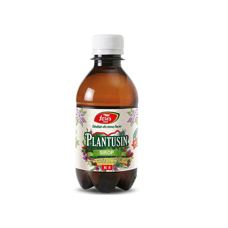 Sirop Plantusin, 250 ml, Fares drmax.ro