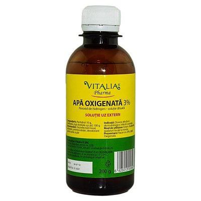 Apa oxigenata, 200 ml, Vitalia imagine produs 2021