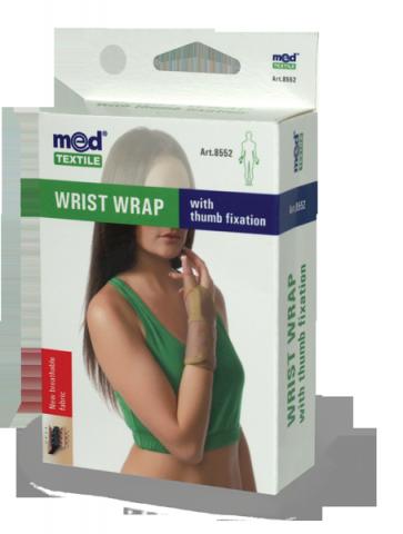 Orteza pentru incheietura mainii cu fixare deget L/XL, 1 bucata, MedTextile drmax.ro