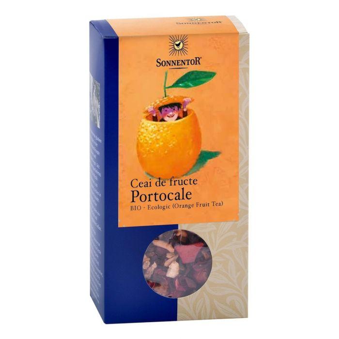 Ceai Bio Fructe Portocale, 100g, Sonnentor la preț mic imagine