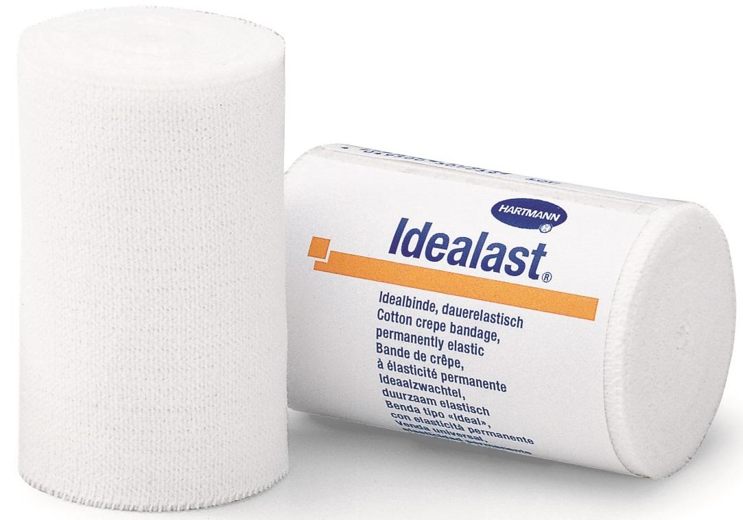 Fasa rola elastica pentru compresie moderata, 10 cm x 5 m, Idealast