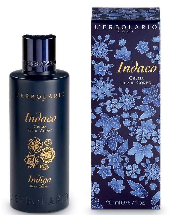 L'Erbolario, Crema de corp Indigo, 200ml drmax.ro