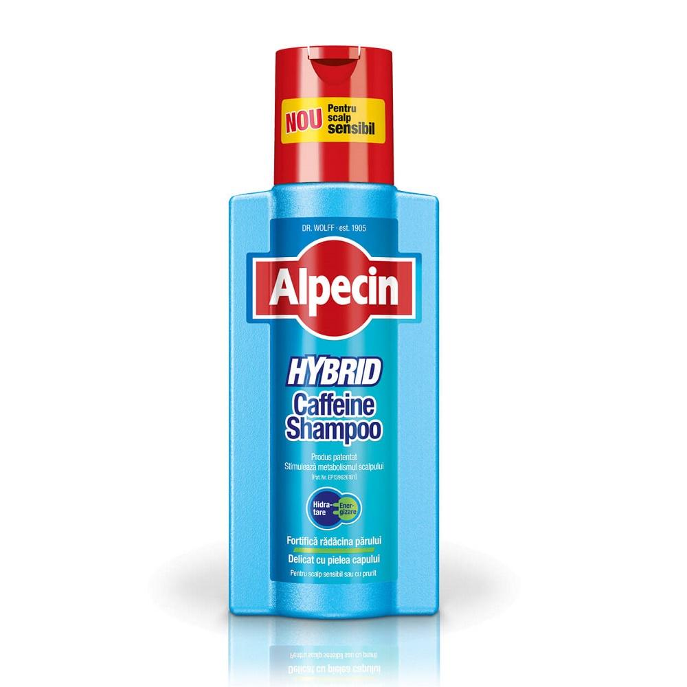 Sampon pentru scalp sensibil cu prurit Hybrid, 250ml, Alpecin imagine produs 2021