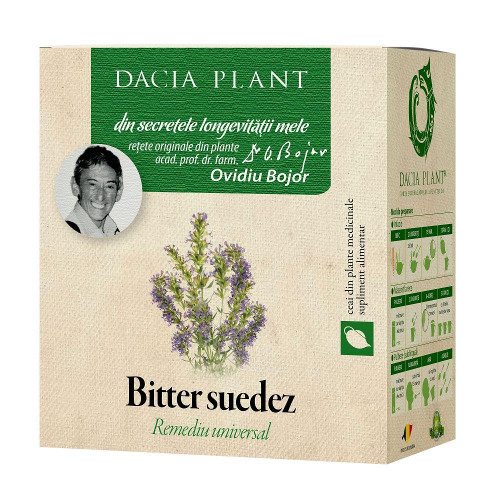 Ceai Bitter Suedez, 50g, Dacia Plant drmax.ro
