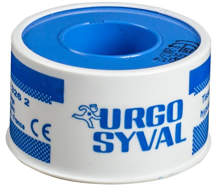 Leucoplast Syval, 5 m x 2.5 cm, Urgo