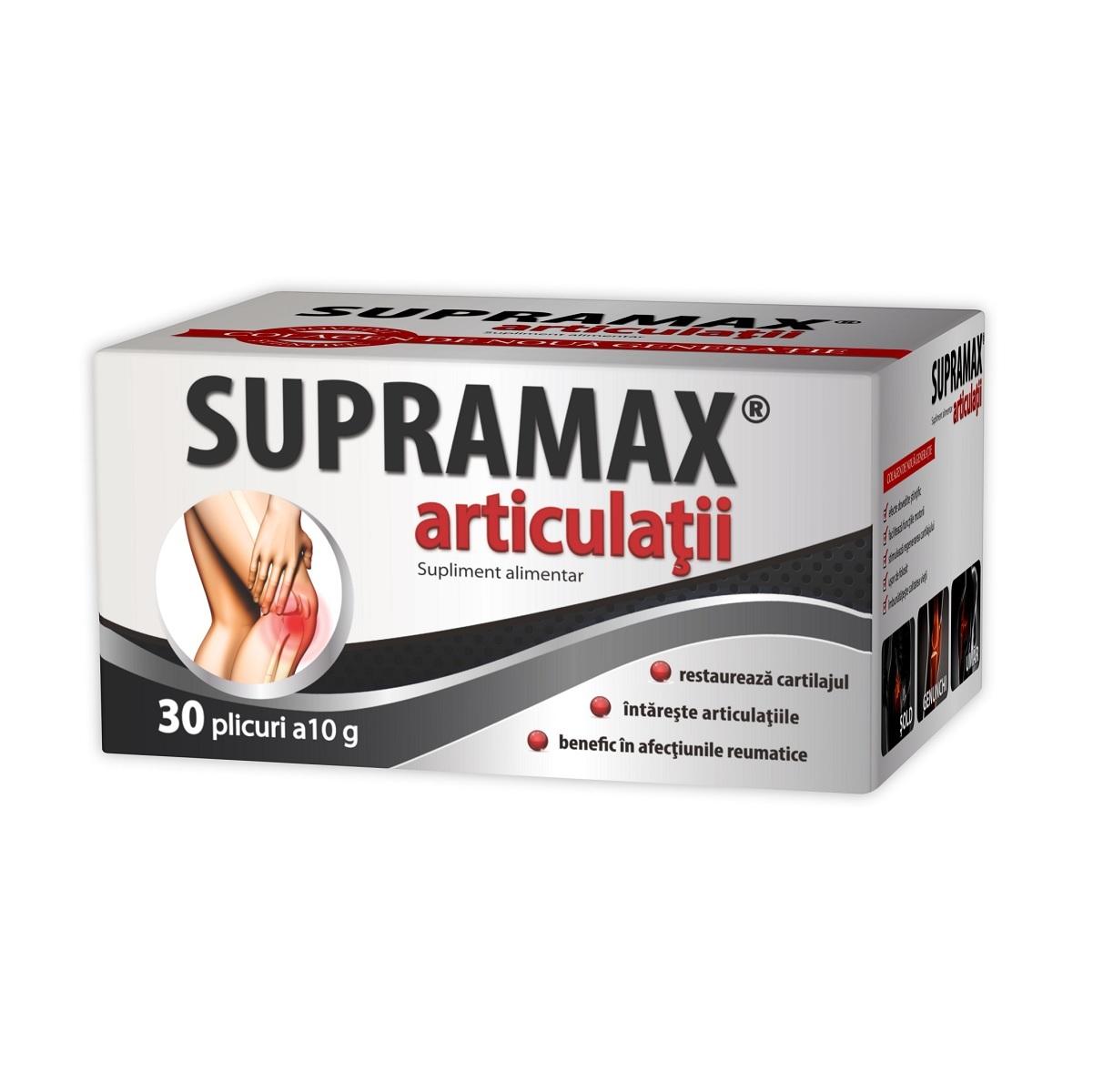 Supramax articulatii, 30 plicuri, Zdrovit drmax poza
