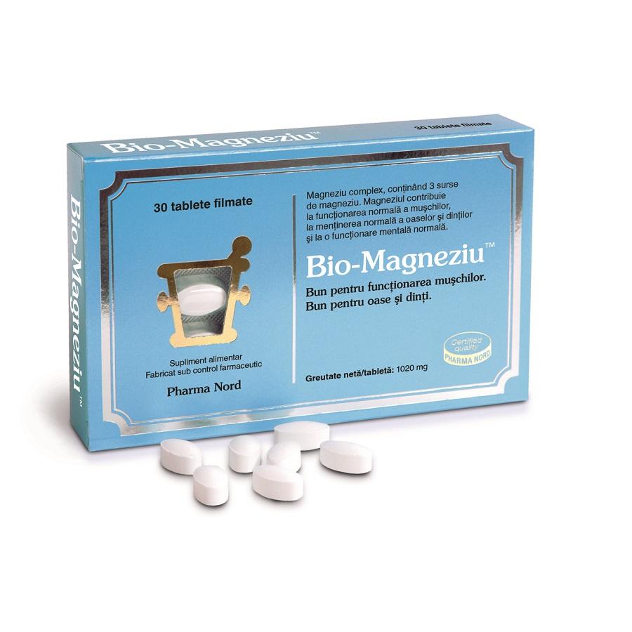 Bio-Magneziu, 30 tablete, Pharma Nord imagine produs 2021