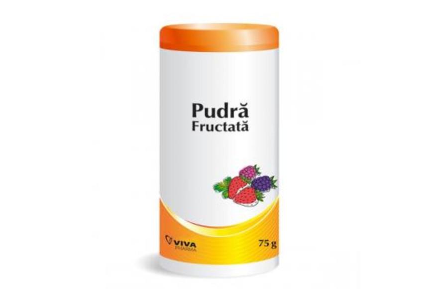 Pudra fructata, 75 g, Vitalia drmax.ro
