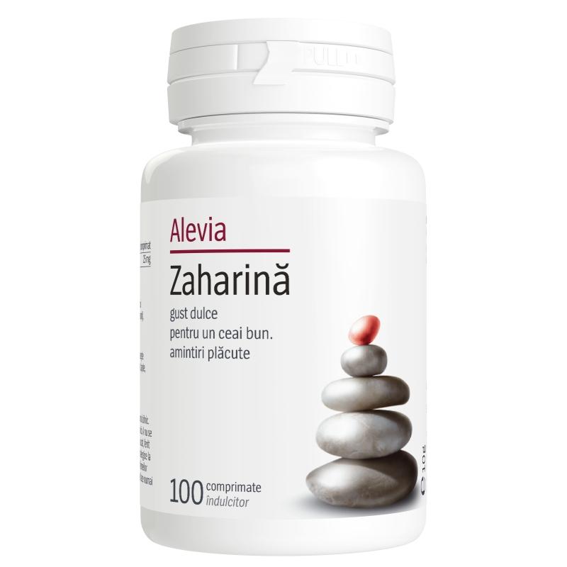 Zaharina, 100 comprimate, Alevia drmax poza