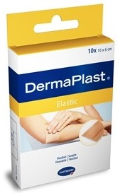 Plasturi cu suport textil elastic, 20 buc, Dermaplast