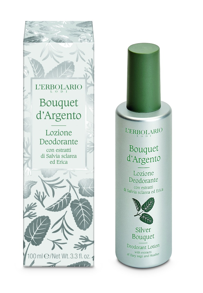 Deodorant Lotiune Silver Bouquet, 100ml, L'Erbolario imagine produs 2021