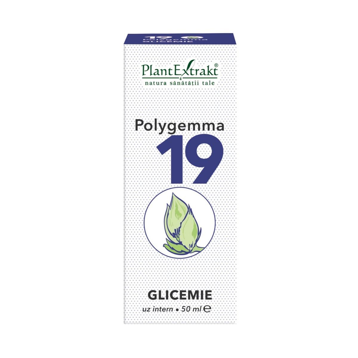 Polygemma 19, glicemie, 50ml, Plant Extrakt imagine produs 2021