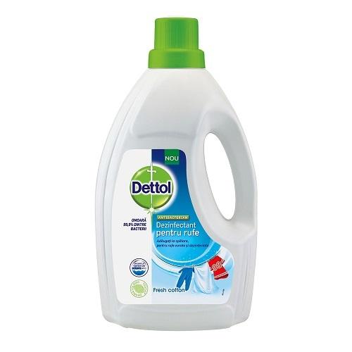 Dezinfectant pentru rufe Fresh Cotton, 1.5L, Dettol imagine produs 2021