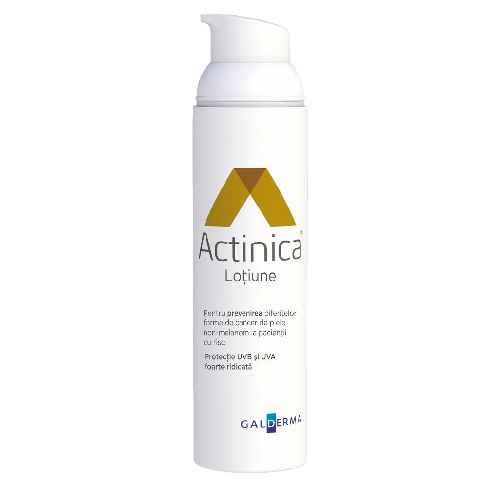 Lotiune pentru protectie solara cu SPF 50+ Actinica, 80ml, Galderma imagine produs 2021