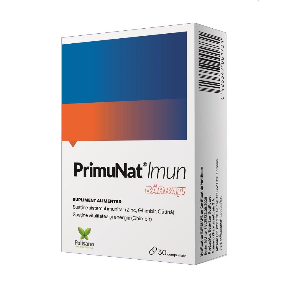 PrimuNat Imun pentru barbati 30 comprimate, Polisano drmax.ro