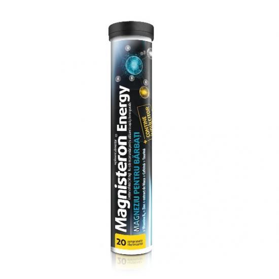 Magnisteron Energy, 20 comprimate efervescente, Aflofarm drmax.ro