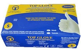 Manusi examinare din latex, marimea L, 100 buc, Top Glove imagine produs 2021