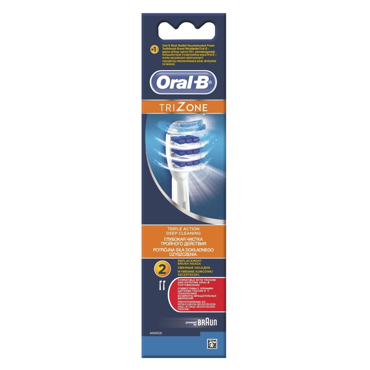 Rezerva periuta electrica EB30 Trizone, 2 bucati, Oral-B