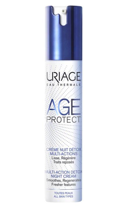 Crema de noapte Anti-aging Detox Age Protect, 40ml, Uriage imagine produs 2021