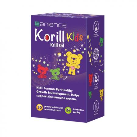 Korill Kids, 30 ursuleti gumati, Sanience drmax poza