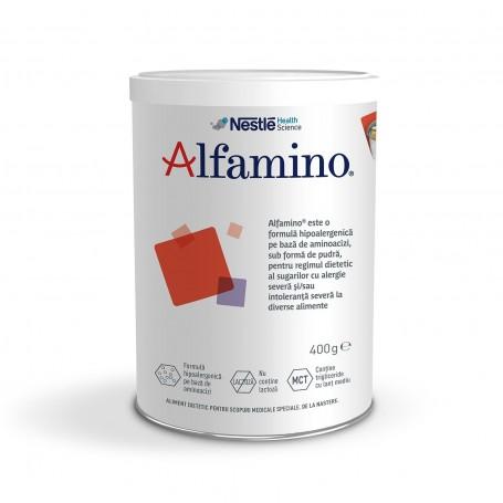 Lapte praf Alfamino, 400 g, Nestle drmax.ro