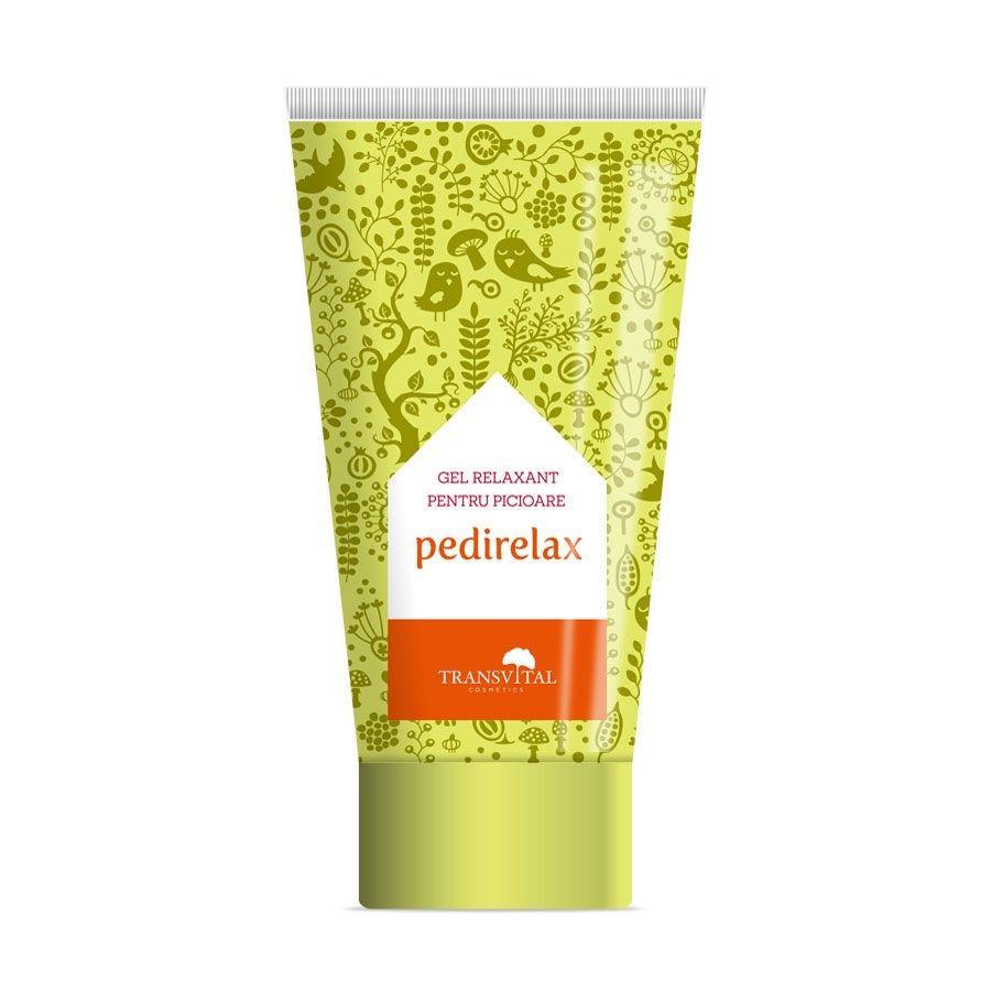Pedirelax gel relaxant pentru picioare, 150 ml, Transvital drmax.ro