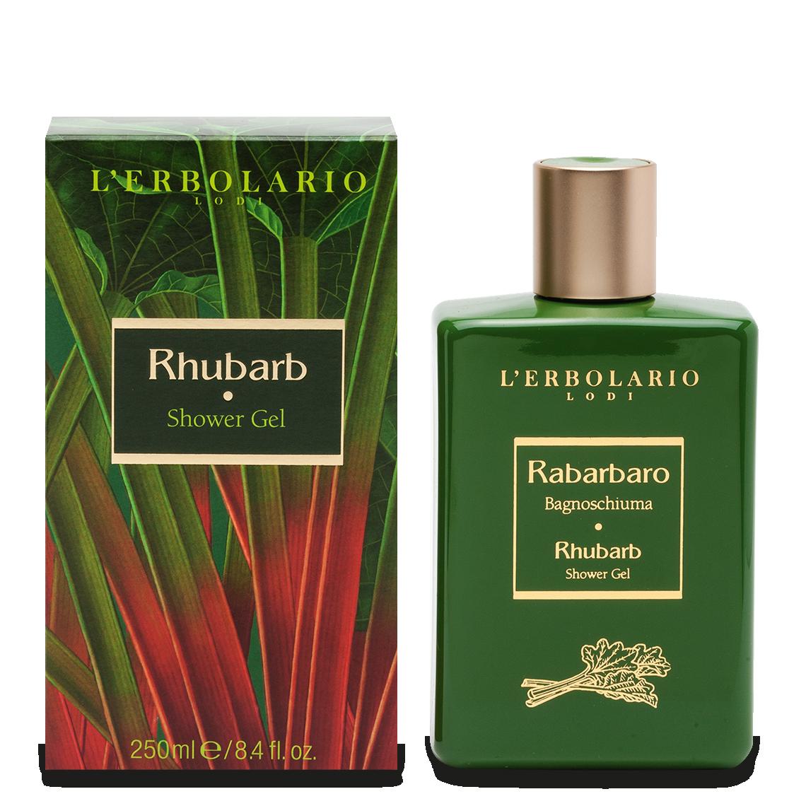 L'Erbolario, Gel de dus Rhubarb, 250ml drmax poza