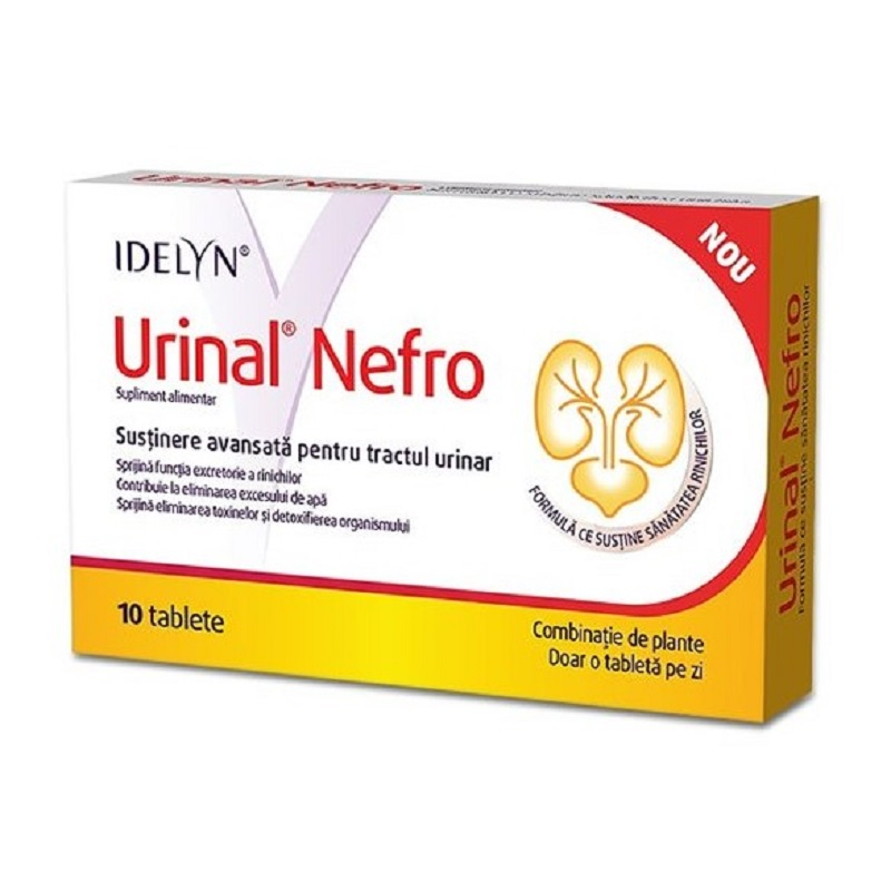 Urinal Nefro Idelyn, 10 tablete, Walmark drmax poza