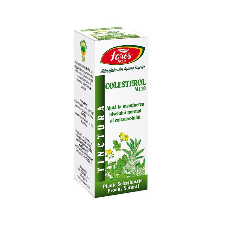 Tinctura Colesterol, 30ml, Fares drmax.ro