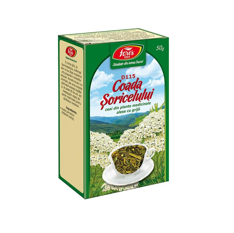 Ceai Coada Soricelului, 50 g, Fares drmax.ro