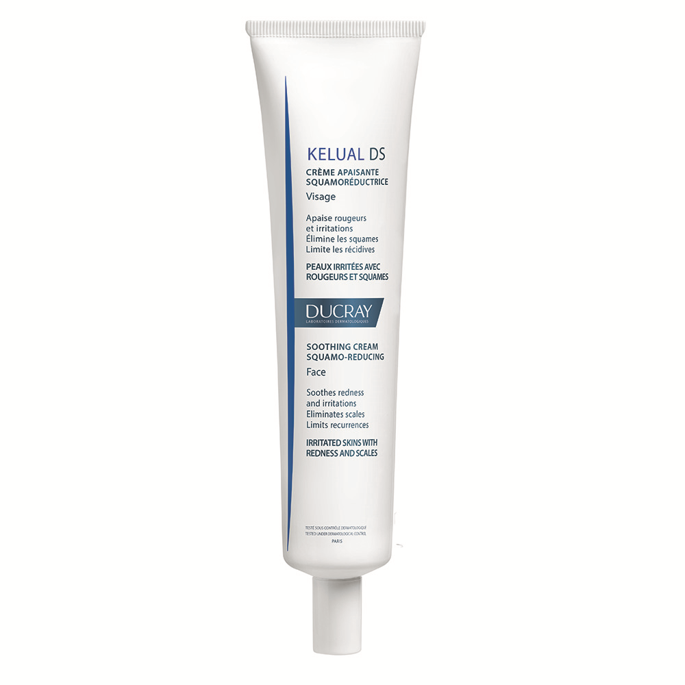 Crema calmanta pentru reducerea scuamelor si cu efect anti-recidiva Kelual DS, 40 ml, Ducray drmax.ro