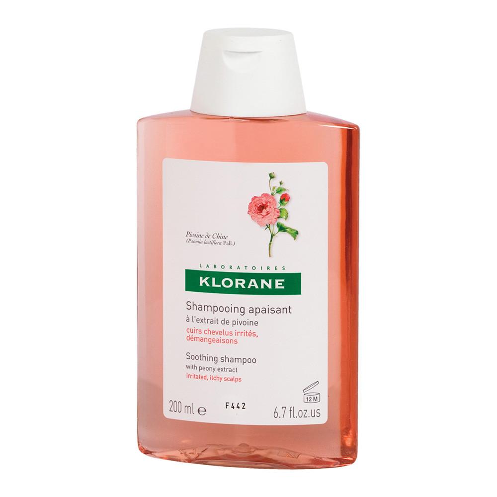 sampon cu extract de bujor pentru scalp sensibil si iritat, 200 ml, Klorane