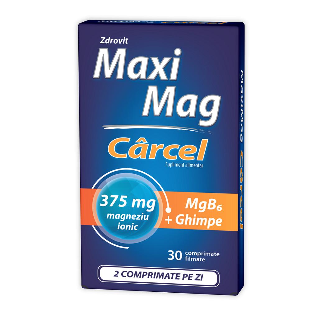 Maximag Carcel, 30 comprimate, Zdrovit drmax.ro