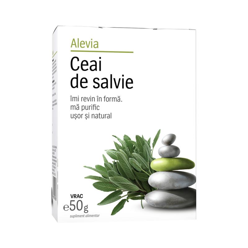 Ceai de salvie, 50g, Alevia imagine produs 2021