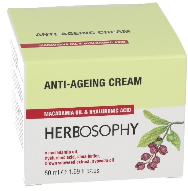 Herbosophy, Crema anti-imbatranire, 50ml imagine produs 2021