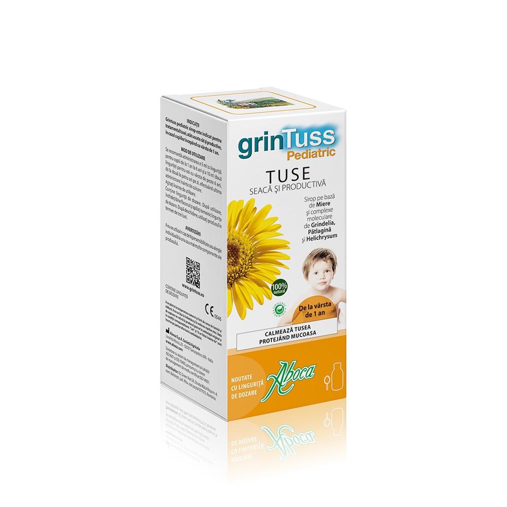 Sirop de tuse pentru copii Grintuss, 180 ml, Aboca drmax poza