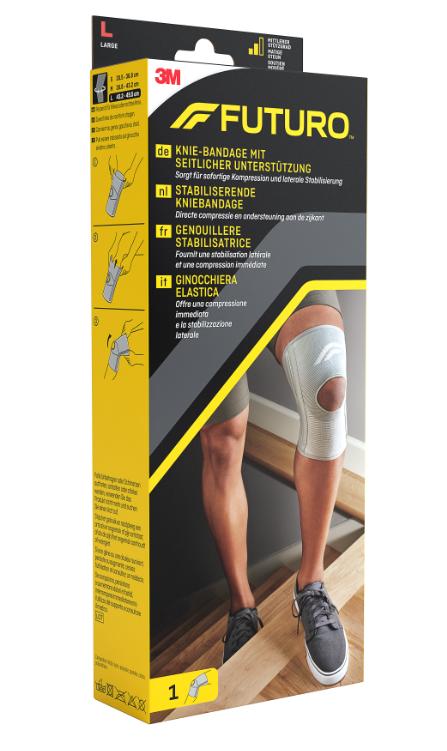 Suport pentru stabilizarea genunchiului, marimea L, 43 - 49cm, Futuro drmax.ro